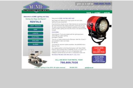 www.AcmeLightingandgrip.com